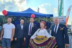 Delegacja z Gminy Telatyn na Dożynkach Wojewódzkich