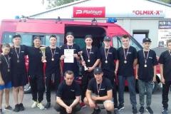 Młodzieżowa Drużyna Pożarnicza OSP Telatyn na podium