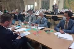 Podsumowano dotychczasową działalność Stowarzyszenia Samorządów Euroregion Roztocze