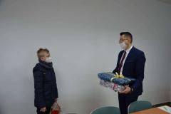 Św. Mikołaj – Wójt Gminy Telatyn  spotkał się z dziećmi, które do niego napisały