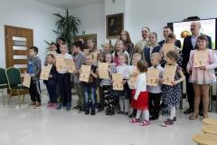 Uczniowie z gminy Telatyn nagrodzeni w Powiecie